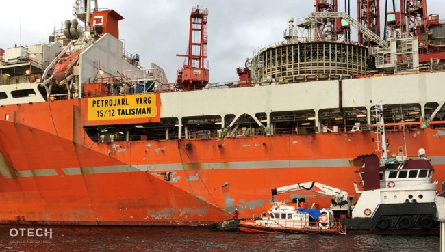 Petrojarl Varg Thruster Replacement Project In Norway